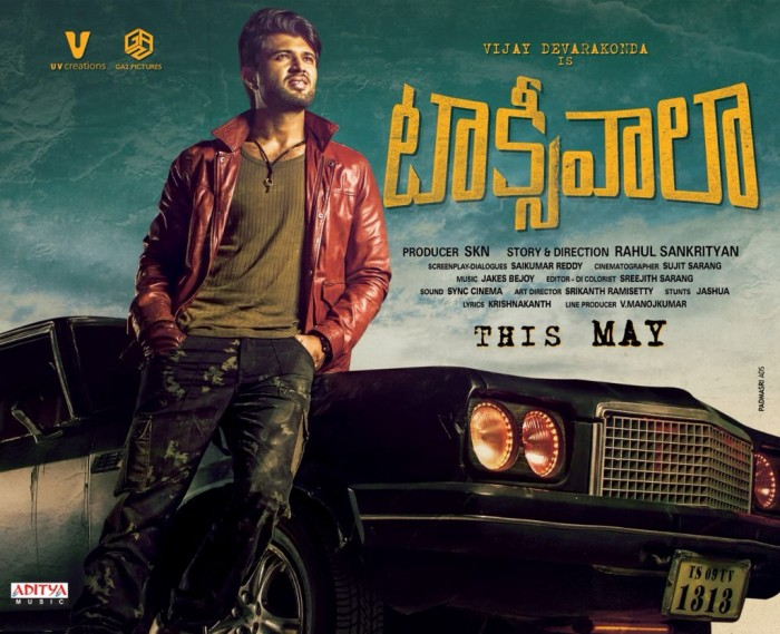 Taxiwaala First Look: Vijay Deverakonda is swag personified in this poster