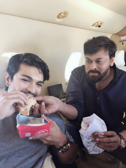 This latest photo of Chiranjeevi and Ram Charan is simply too sweet