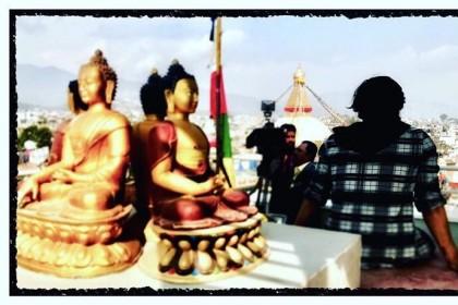 Photo: Shooting of Arjun Reddy's Tamil remake starring Dhruv Vikram begins in Nepal