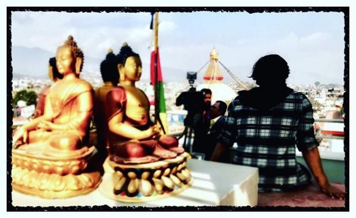 Photo: Shooting of Arjun Reddy's Tamil remake starring Dhruv Vikram begins in Nepal