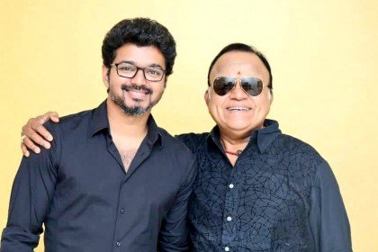 Thalapathy 62: This recent pic of Vijay with veteran actor Radha Ravi is going viral