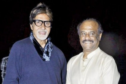 Will pray for Amitabh Bachchan's health, says Rajinikanth on reaching Dehradun
