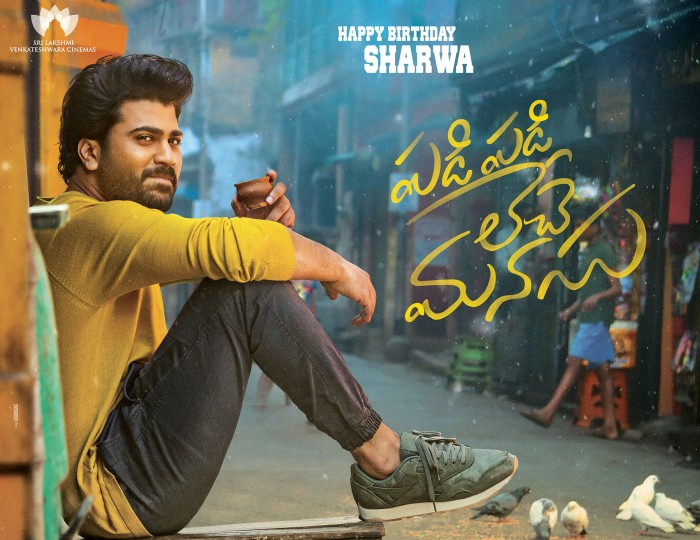Sharwanand's next with Hanu Raghavapudi is titled Padi Padi Leche Manasu