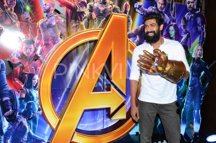 Photos: Rana Daggubati makes dapper appearance at Avengers:Infinity War press meet!