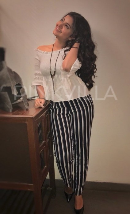 Style check: Anupama Parameswaran goes trendy for Krishnarjuna Yuddham promotions