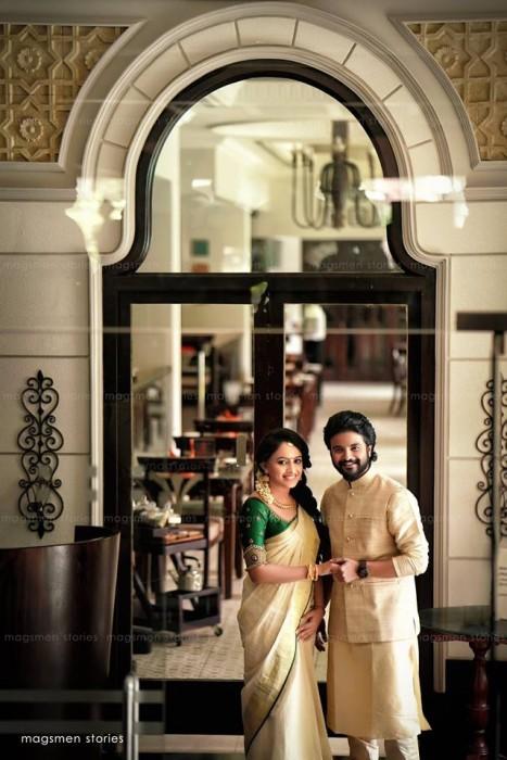Photos: Wedding of Malayalam actor Neeraj Madhav and Deepthi is