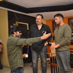 Photos: Pawan Kalyan, Allu Arjun and others meet to discuss Sri Reddy and Ram Gopal Varma issue