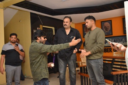 Photos: Pawan Kalyan, Allu Arjun and others meet to discuss Sri Reddy and Ram Gopal Varma issue