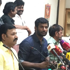 TFPC President Vishal: Thankful to Dhanush and superstar Rajinikanth for holding the release of Kaala
