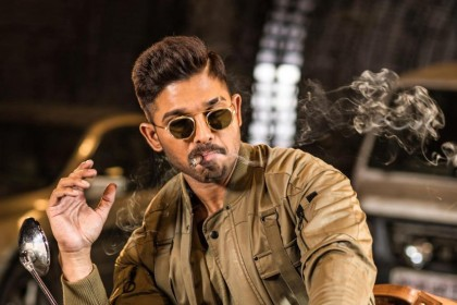 Photo: Allu Arjun is intensity personified in this latest poster from Naa Peru Surya
