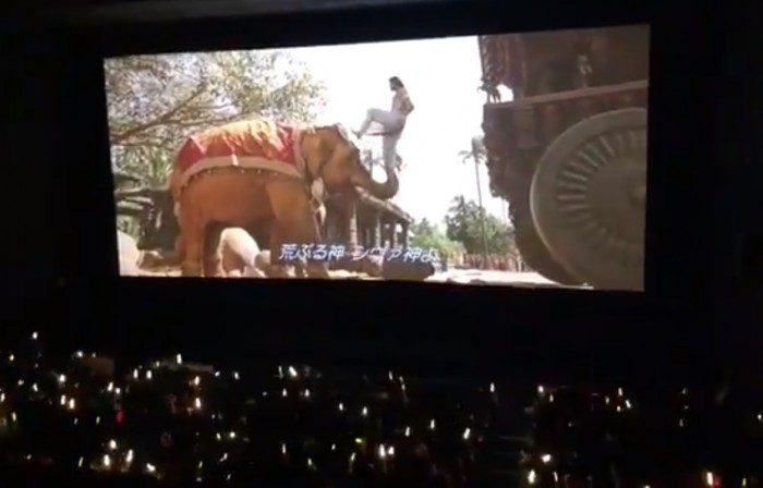 Watch Video: Chinese audience's reaction to the screening of Baahubali is pleasing