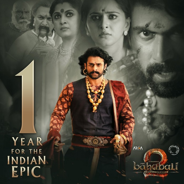 1 Year of Baahubali 2: Prabhas posts an emotional message as the magnum opus turns one year old
