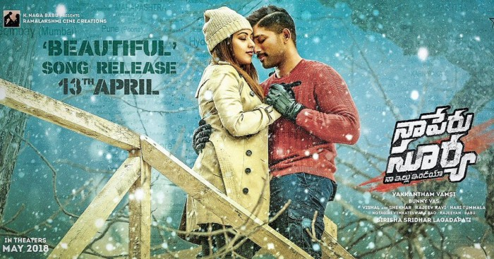 Beautiful Love: Latest single from Allu Arjun starrer Naa Peru Surya to be out soon