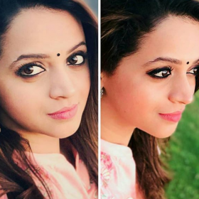 These recent photos of Bhavana are stunning
