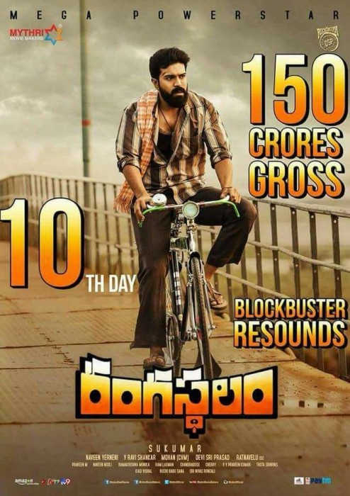 Box Office: Ram Charan and Samantha Akkineni starrer Rangasthalam witnesses phenomenal worldwide business