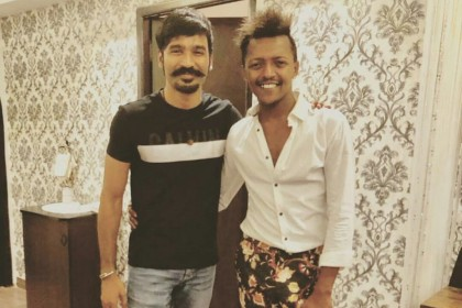 Dhanush looks smart in this recent photo