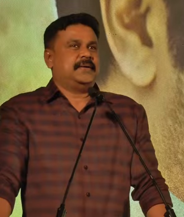Actor Dileep takes a sly dig at media over assault case during the audio launch of Kamara Sambhavam