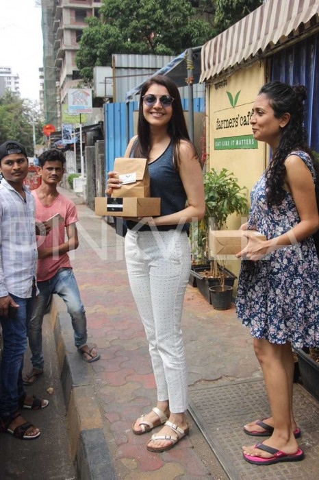 Photos: Kajal Aggarwal's day out in style!