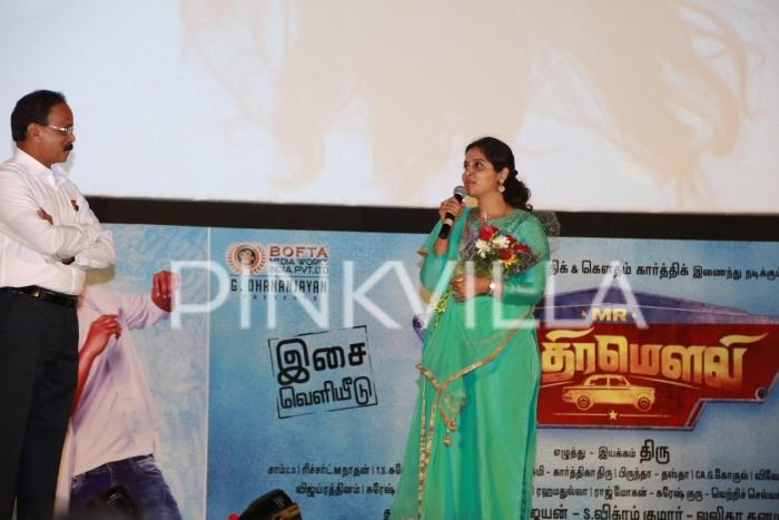 Photos: Audio launch of Mr Chandramouli starring Gautham Karthik, Regina Cassandra and Karthik