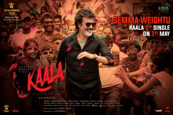 First single from Rajinikanth starrer Kaala will be out soon, confirms Dhanush
