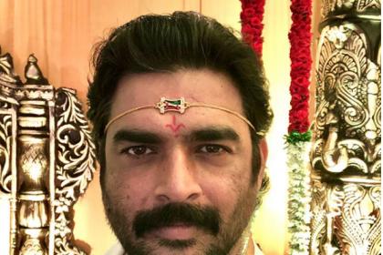 Photo: Madhavan wraps up the shoot of Savyasachi