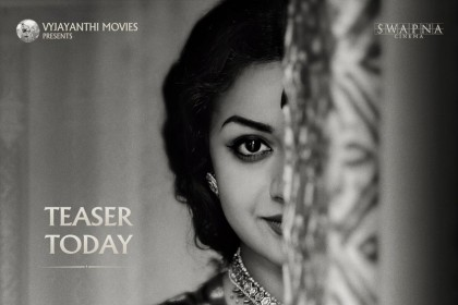 See Poster: Keerthy Suresh's uncanny resemblance to the legendary actor Savitri is unbelievable