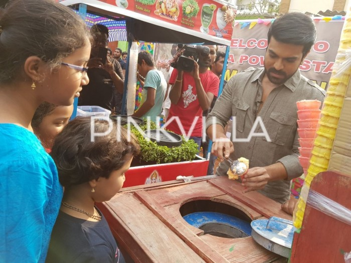 Actor Ram Charan is surely the man with a golden heart