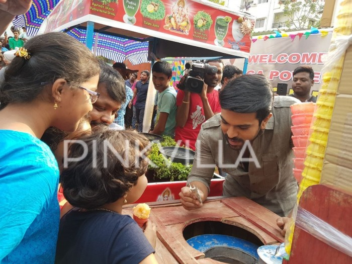 Photos: Ram Charan supporting a cause for Lakshmi Manchu's Memu Saitham is the best thing you'll see today!