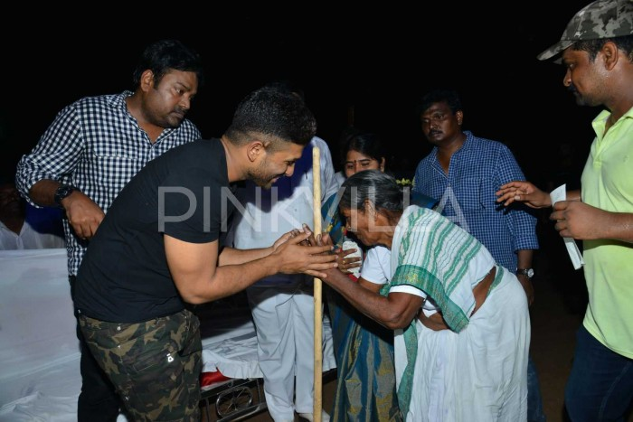 Photos: Audio launch of Allu Arjun's Naa Peru Surya at Military Madhavaram turns out to be a fans' galore