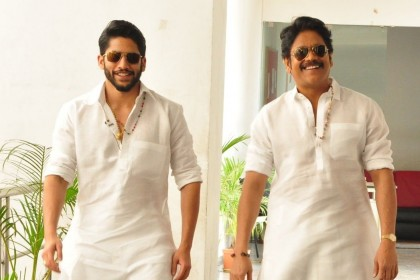Nagarjuna's Ninnu Road Meeda Chusinadi number to be remixed for Naga Chaitanya's Savyasachi