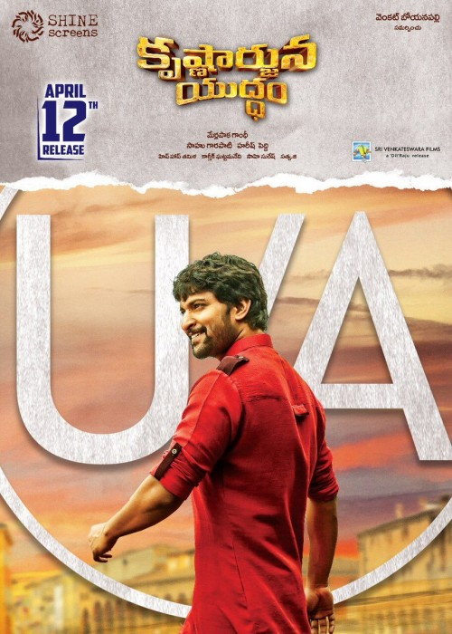 Nani starrer Krishnarjuna Yuddham cleared with U/A certificate, to hit screens as planned