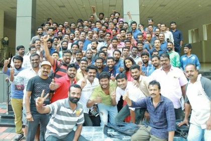 See Photo: Mohanlal starrer period film Odiyan gets wrapped
