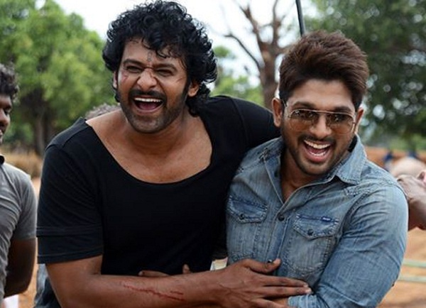 Prabhas to attend the pre-release event of Allu Arjun starrer Naa Peru Surya?