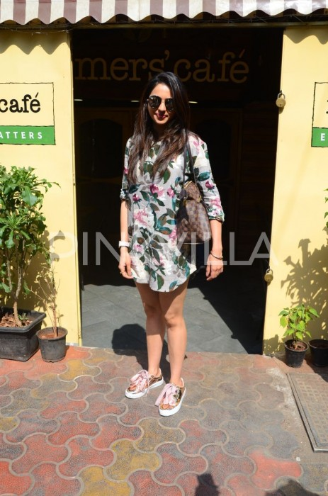 Rakul Preet is style personified as she steps out in Mumbai