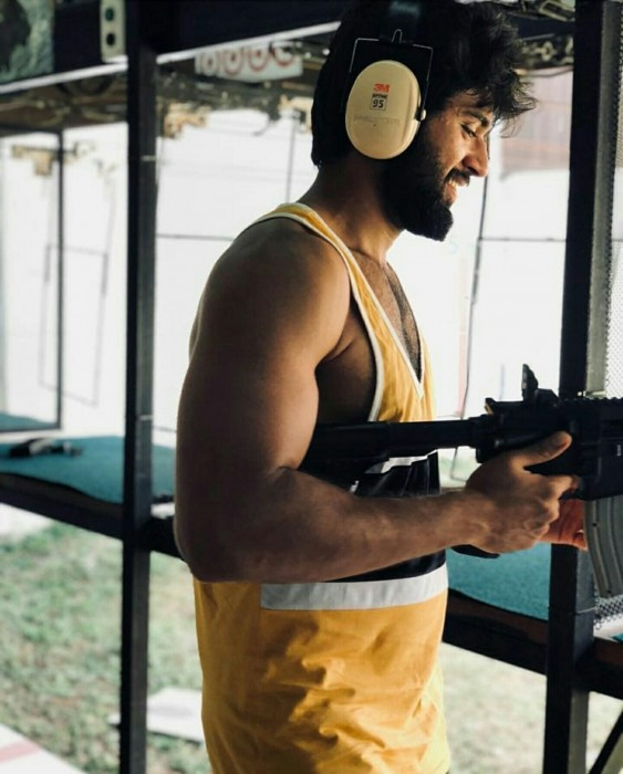 Photos: Vijay Deverakonda is enjoying gun shooting in Thailand's Krabis Gun Range and it is quite a sight