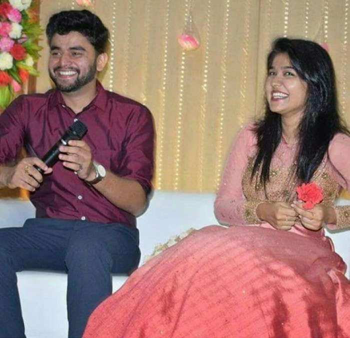 Photos: Jimmiki Kammal fame girl Sheril Kadavan gets engaged