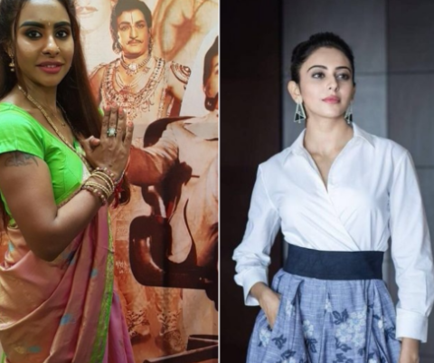 Is Sri Reddy's 'we'll beat you up' remark targeted at Rakul Preet?