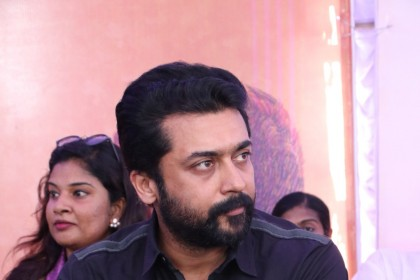 Photos: Suriya attends Kollywood's protest against the Cauvery issue and Sterlite