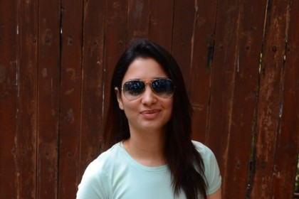 Tamannaah Bhatia sports a simple look in her latest photos