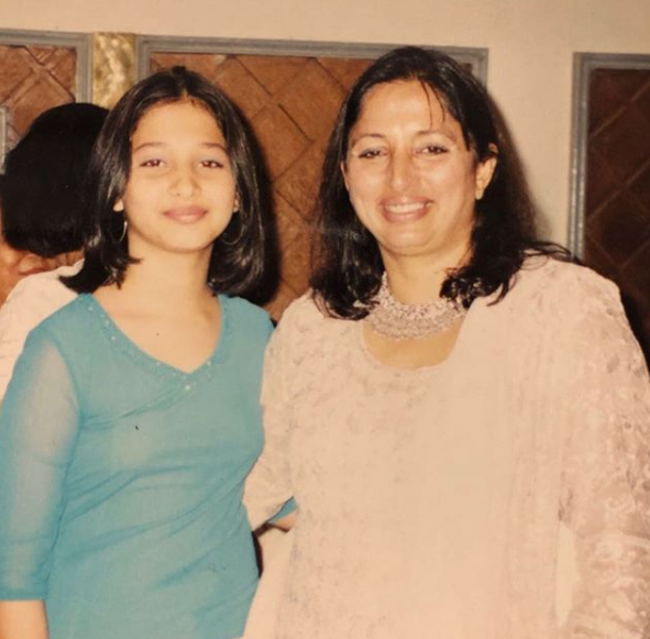 This throwback photo of Tamannaah with her mother is priceless