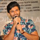 Photos: Vijay Deverakonda, Priyanka Jawalkar and Malavika Nair attend the Taxiwaala teaser launch