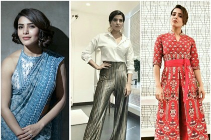 Happy Birthday Samantha Akkineni: Top photos of the actress that prove why she is the fashion queen
