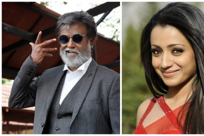 Trisha Krishnan to star opposite Rajinikanth in Karthik Subbaraj's next