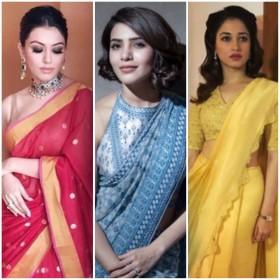 Style check: Samantha Akkineni to Tamannaah Bhatia-which actress looks stunning in a sari?