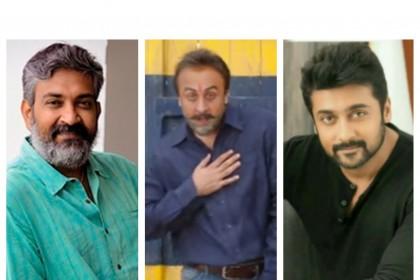 SS Rajamouli, Suriya praise Ranbir Kapoor's Sanju teaser!