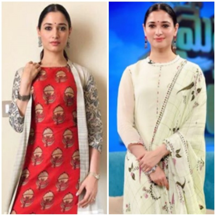 Tamannaah Bhatia slays it with her traditional avatars: Which is your favourite?