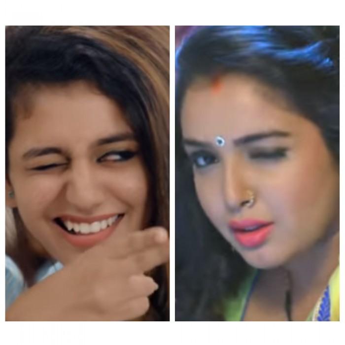 Not Priya Prakash Varrier but this Bhojpuri Actress is the original wink girl