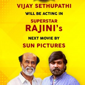 Vijay Sethupathi signed on alongside superstar Rajinikanth in Karthik Subbaraj's upcoming film