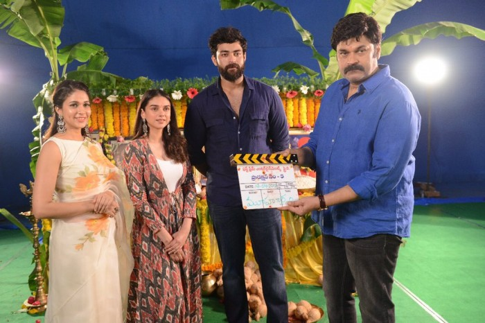 Photos: Varun Tej's space film with director Sankalp Reddy gets officially launched