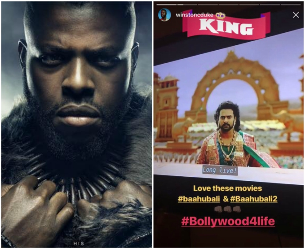 Black Panther's M'Baku, Winston Duke, loves Baahubali and it cannot get bigger than this
